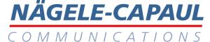 Logo von Nägele-Capaul communications AG